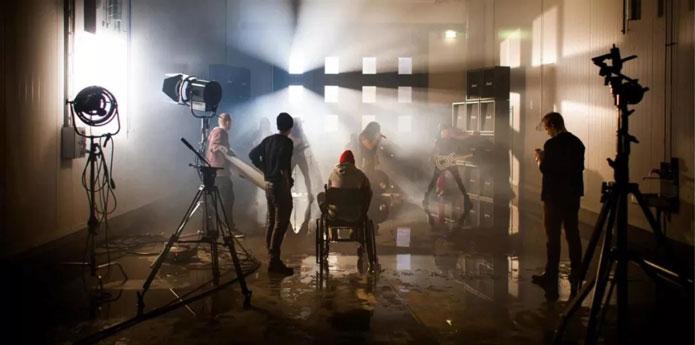 摄影小知识:摄影棚人像灯光打法
